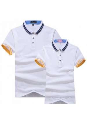Polo衫纤维丝光短袖T恤